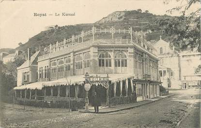 "/ CPA FRANCE 63 ""Royat, le Kursaal"""