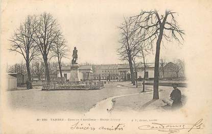 "/ CPA FRANCE 65 ""Tarbes, caserne d'Artillerie, statue Larrey"""