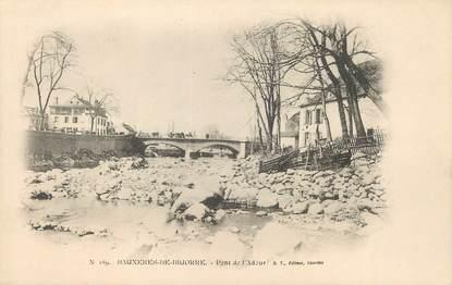 """/ CPA FRANCE 65 """"Bagnères de Bigorre, pont de l'Adour"""""""