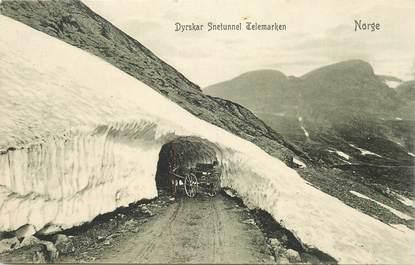 """CPA NORVEGE """" Tunnel"""""""