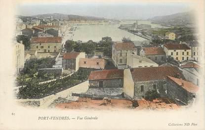 """/ CPA FRANCE 66 """"Port Vendres, vue générale"""""""