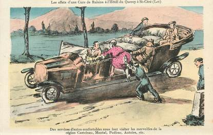 """CPA THERMALISME / SCATOLOGIE """"France 46, Saint Céré"""""""