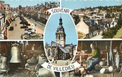 """/ CPSM FRANCE 50 """"Villedieu les Poeles"""""""