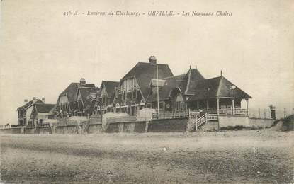 """/ CPA FRANCE 50 """"Urville, les nouveaux chalets"""""""