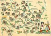 54 Meurthe Et Moselle CPSM FRANCE 54  / Le Département