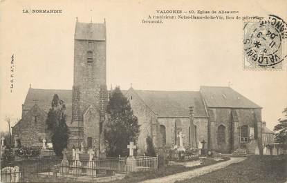 """/ CPA FRANCE 50 """"Valognes, église"""""""