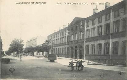 """/ CPA FRANCE 63 """"Clermont Ferrand, l'hôtel Dieu"""""""