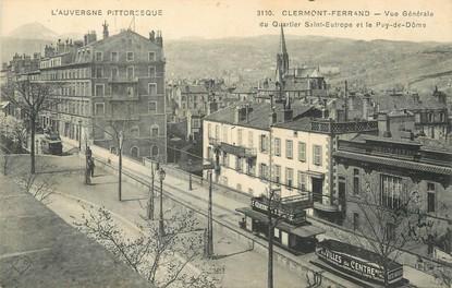 """/ CPA FRANCE 63 """"Clermont Ferrand, vue générale"""""""