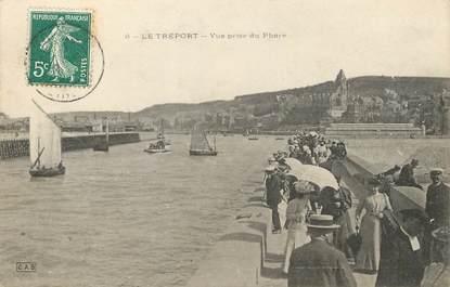 """/ CPA FRANCE 76 """"Le Tréport, vue prise du phare"""""""