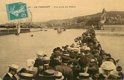 """/ CPA FRANCE 76 """"Le Tréport, vue prise du phare """""""