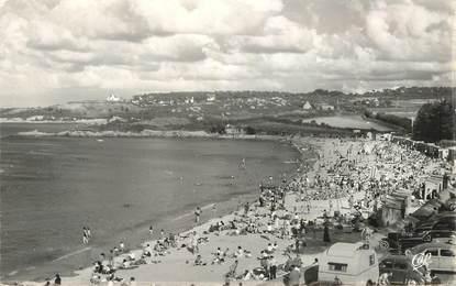 """CPSM  FRANCE 29 """"Carantec, la plage"""""""