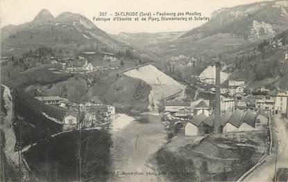 """/ CPA FRANCE 39 """"Saint Claude, faubourg des Moulins"""""""