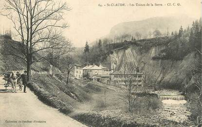 "/ CPA FRANCE 39 ""Saint Claude, les usines de la serre"""
