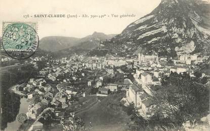 """/ CPA FRANCE 39 """"Saint Claude, vue générale"""""""