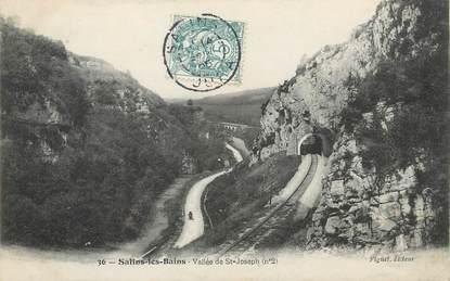 """/ CPA FRANCE 39 """"Salins les Bains, vallée de Saint Joseph"""""""
