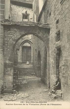 """/ CPA FRANCE 39 """"Salins les Bains, ancien couvent de la visitation"""""""