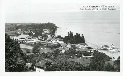 """CPSM  FRANCE 74 """"Amphion, vue générale"""""""