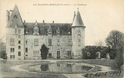 "/ CPA FRANCE 91 ""Le Plessis Mornay, le château"""