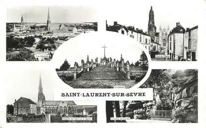 """CPSM  FRANCE 85 """"Saint Laurent sur Sevre"""""""