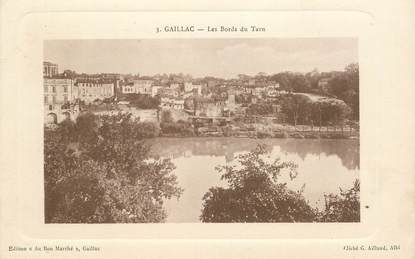 "CPA  FRANCE 81 ""Gaillac, les bords du Tarn"""