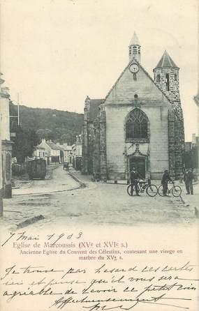 """/ CPA FRANCE 91 """"Eglise de Marcoussis"""""""