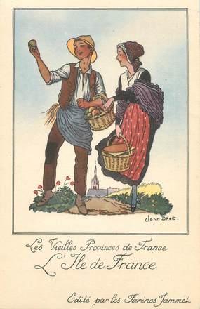 """/ CPA FRANCE 91 """"Les vieilles provinces de France, l'Ile de France"""""""