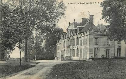 """/ CPA FRANCE 91 """"Château de Morionville"""""""