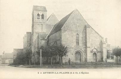 """/ CPA FRANCE 91 """"Authon La Plaine, l'église"""""""