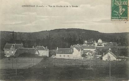 """/ CPA FRANCE 91 """"Gironville, vue de Girolle et de la Bonde"""""""