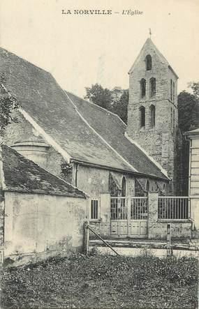 """/ CPA FRANCE 91 """"La Norville, l'église"""""""