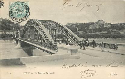 """/ CPA FRANCE 69 """"Lyon, le pont de la boucle"""""""