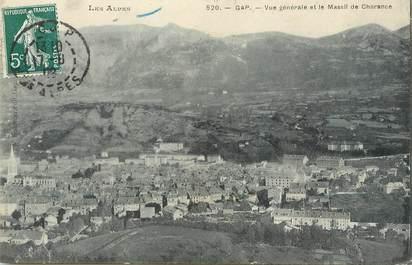 """/ CPA FRANCE 05 """"Gap, vue générale et le massif de Charance"""""""
