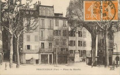 """/ CPA FRANCE 83 """"Draguignan, place du marché"""""""