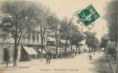 """/ CPA FRANCE 83 """"Draguignan, boulevard de l'esplanade"""""""