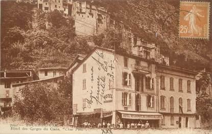 """/ CPA FRANCE 06 """"Touet du Var, hôtel des gorges du Cians"""""""