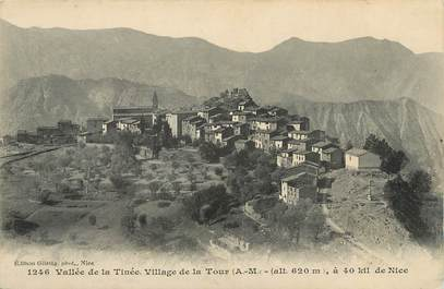 """/ CPA FRANCE 06 """"Vallée de la Tinée, village de la Tour"""""""