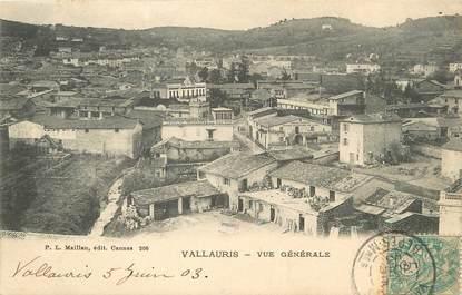 "/ CPA FRANCE 06  "" Vallauris, vue générale """
