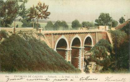 "/ CPA FRANCE 06 ""Vallauris, le pont """