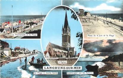 "/ CPSM FRANCE 14 ""Langrune sur Mer"""