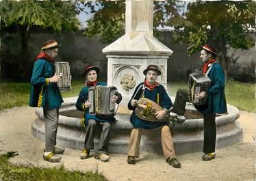 """CPSM FRANCE 43 """"Folklore d'Auvergne, Orchestre"""""""