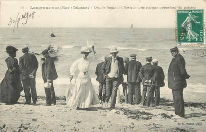 """/ CPA FRANCE 14 """"Langrune sur Mer"""""""