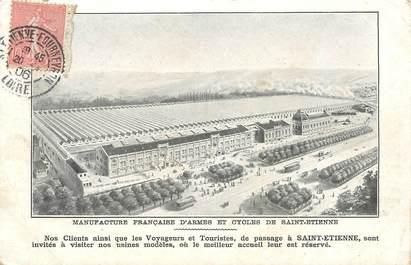 """CPA FRANCE 42 """"Saint  Etienne, Manufacture d'armes"""""""
