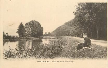 """CPSM FRANCE 55 """"Saint Mihiel, bords de Meuse vers Maizey"""""""