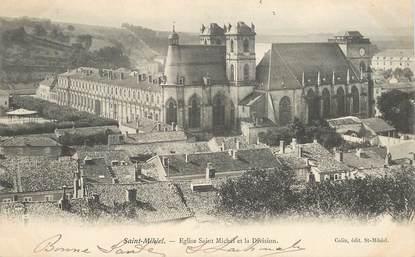 """CPSM FRANCE 55 """"Saint Mihiel, Eglise Saint Michel et la Division"""""""