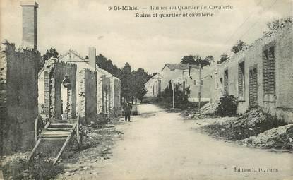 """CPA FRANCE 55 """"Saint Mihiel, ruines du Quartier de cavalerie"""""""