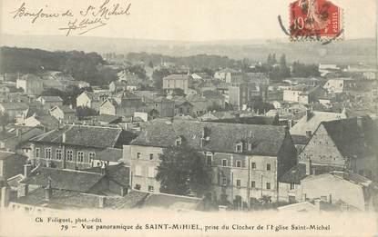 """CPA FRANCE 55 """"Saint Mihiel, prise du clocher de l'Eglise Saint Michel"""""""