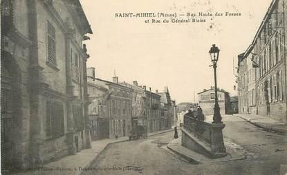 """CPA FRANCE 55 """"Saint Mihiel, rue Haute des Fosses"""""""