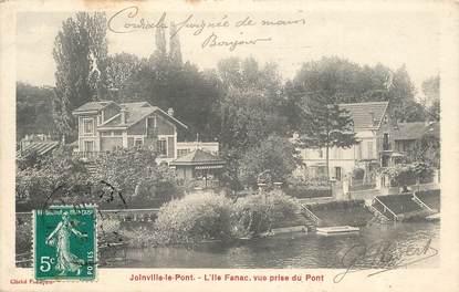 """CPA FRANCE 94 """"Joinville le Pont, L'Ile Fanac"""""""