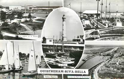 "/ CPSM FRANCE 14 ""Ouistreham Riva Bella"""