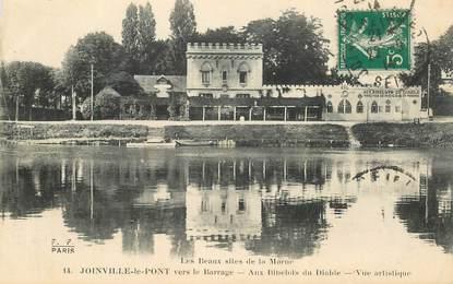"""CPA FRANCE 94 """"Joinville le Pont, aux Bibelots du Diable"""""""